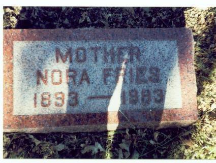 FRIES, NORA - Pottawattamie County, Iowa | NORA FRIES