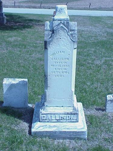GALLISON, HEADSTONE - Pottawattamie County, Iowa | HEADSTONE GALLISON