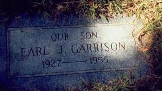 GARRISON, EARL J. - Pottawattamie County, Iowa | EARL J. GARRISON