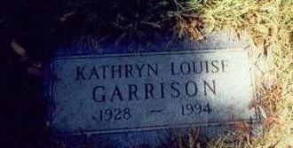 GARRISON, KATHRYN LOUISE - Pottawattamie County, Iowa | KATHRYN LOUISE GARRISON