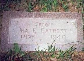 GATROST, IRA E - Pottawattamie County, Iowa | IRA E GATROST