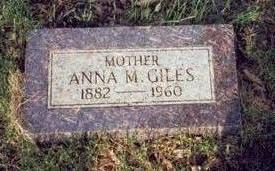 GILES, ANNA M. - Pottawattamie County, Iowa | ANNA M. GILES