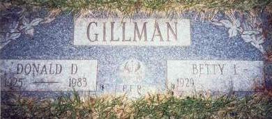 GILLMAN, DONALD D. - Pottawattamie County, Iowa | DONALD D. GILLMAN