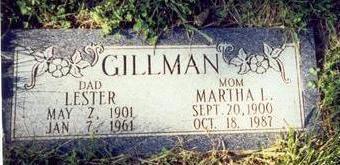 GILLMAN, LESTER - Pottawattamie County, Iowa | LESTER GILLMAN
