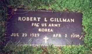 GILLMAN, ROBERT L. - Pottawattamie County, Iowa | ROBERT L. GILLMAN