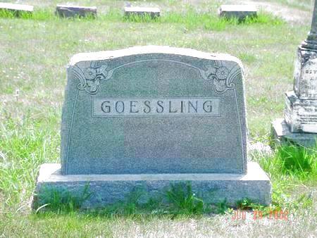 GOESSLING, ALVERDA M. - Pottawattamie County, Iowa   ALVERDA M. GOESSLING