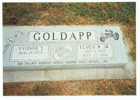 GOLDAPP, ELMER R. JR. - Pottawattamie County, Iowa | ELMER R. JR. GOLDAPP