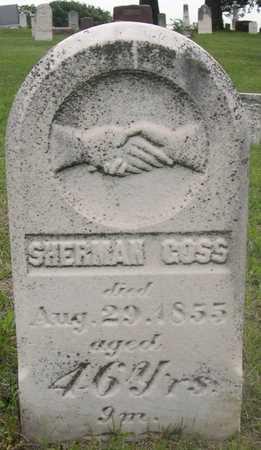 GOSS, SHERMAN - Pottawattamie County, Iowa | SHERMAN GOSS