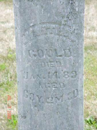 GOULD, MARTHA - Pottawattamie County, Iowa | MARTHA GOULD