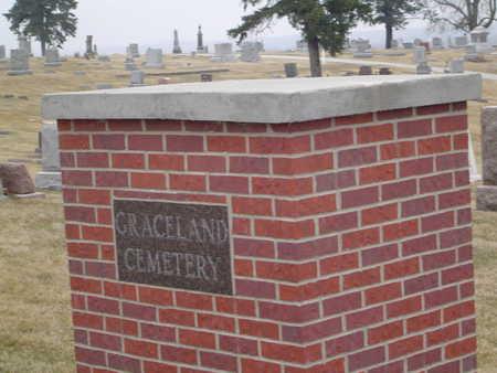 GRACELAND A.K.A. AVOCA, CEMETERY - Pottawattamie County, Iowa | CEMETERY GRACELAND A.K.A. AVOCA