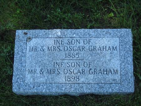 GRAHAM, INFANT SON - Pottawattamie County, Iowa | INFANT SON GRAHAM