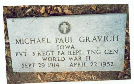 GRAVICH, MICHAEL PAUL - Pottawattamie County, Iowa | MICHAEL PAUL GRAVICH