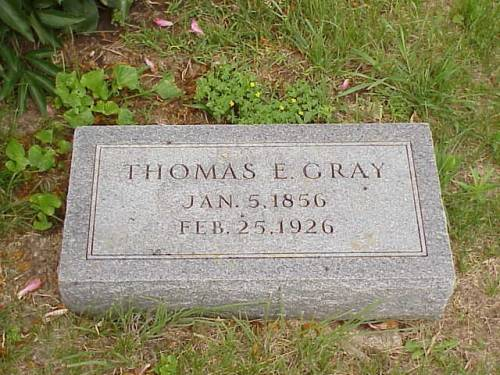 GRAY, THOMAS E. - Pottawattamie County, Iowa | THOMAS E. GRAY