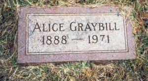 REED GRAYBILL, ALICE MABEL - Pottawattamie County, Iowa | ALICE MABEL REED GRAYBILL