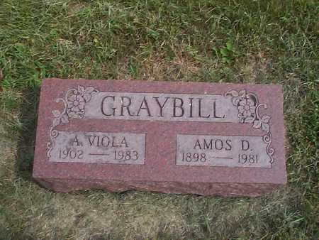 GRAYBILL, AMOS D. - Pottawattamie County, Iowa | AMOS D. GRAYBILL