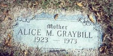 GRAYBILL, ALICE M. - Pottawattamie County, Iowa | ALICE M. GRAYBILL