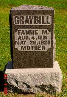 GRAYBILL, FANNIE M. - Pottawattamie County, Iowa | FANNIE M. GRAYBILL