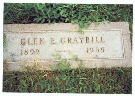 GRAYBILL, GLEN ERVIN - Pottawattamie County, Iowa   GLEN ERVIN GRAYBILL