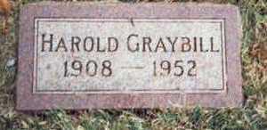 GRAYBILL, HAROLD OLIVER - Pottawattamie County, Iowa   HAROLD OLIVER GRAYBILL