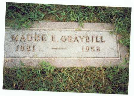 GRAYBILL, MAUDE EDITH - Pottawattamie County, Iowa | MAUDE EDITH GRAYBILL