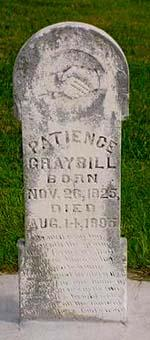 GRAYBILL, PATIENCE - Pottawattamie County, Iowa | PATIENCE GRAYBILL