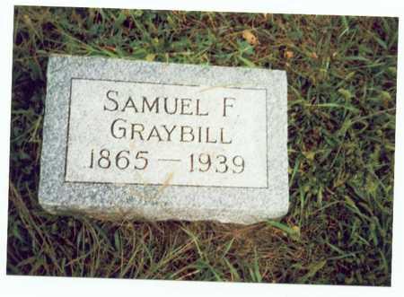 GRAYBILL, SAMUEL F. - Pottawattamie County, Iowa | SAMUEL F. GRAYBILL