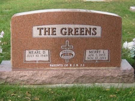 GREENS, MERRY L. - Pottawattamie County, Iowa | MERRY L. GREENS