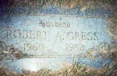 GRESS, ROBERT A. - Pottawattamie County, Iowa | ROBERT A. GRESS