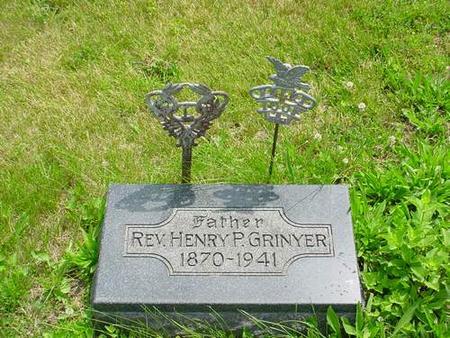GRINYER, HENRY P. - Pottawattamie County, Iowa   HENRY P. GRINYER