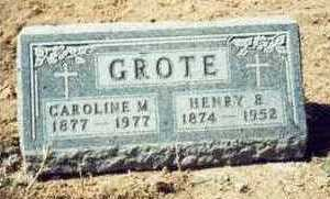 GROTE, HENRY B. - Pottawattamie County, Iowa | HENRY B. GROTE