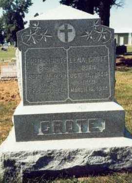 GROTE, FRED S. - Pottawattamie County, Iowa   FRED S. GROTE