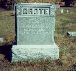 GROTE, MARGARET - Pottawattamie County, Iowa | MARGARET GROTE