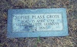 GROTE, SOPHIE - Pottawattamie County, Iowa | SOPHIE GROTE
