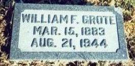 GROTE, WILLIAM F - Pottawattamie County, Iowa | WILLIAM F GROTE