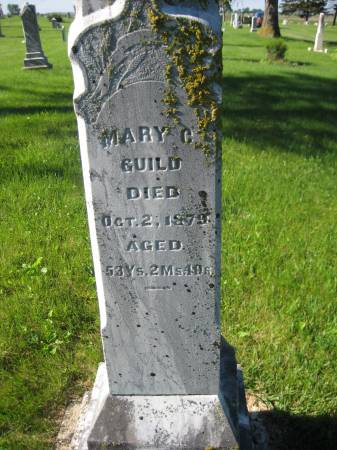 GUILD, MARY C. - Pottawattamie County, Iowa | MARY C. GUILD
