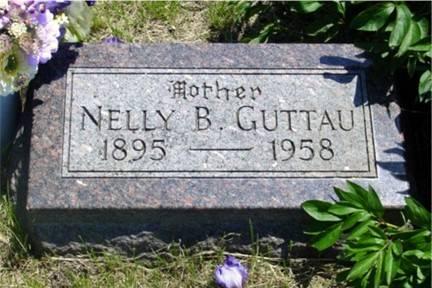 GUTTAU, NELLY B. FORRISTALL - Pottawattamie County, Iowa | NELLY B. FORRISTALL GUTTAU