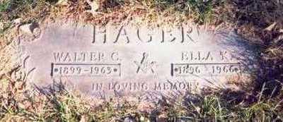 HAGER, WALTER C. - Pottawattamie County, Iowa | WALTER C. HAGER