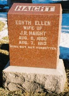 HAIGHT, EDYTH ELLEN - Pottawattamie County, Iowa | EDYTH ELLEN HAIGHT