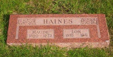 HAINES, LON - Pottawattamie County, Iowa | LON HAINES