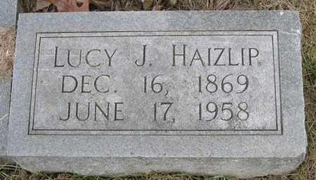 HAIZLIP, LUCY J. - Pottawattamie County, Iowa | LUCY J. HAIZLIP
