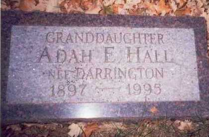 DARRINGTON HALL, ADAH ELIZABETH - Pottawattamie County, Iowa | ADAH ELIZABETH DARRINGTON HALL