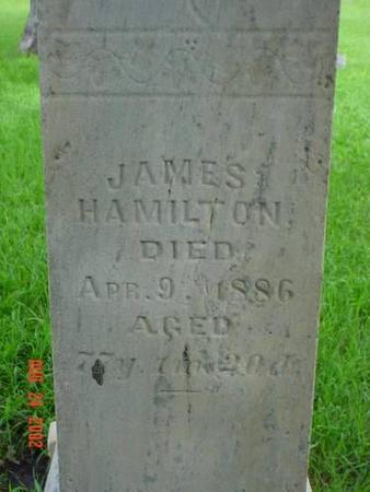HAMILTON, JAMES - Pottawattamie County, Iowa   JAMES HAMILTON