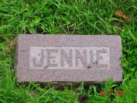 HAMILTON, JENNIE CLARK - Pottawattamie County, Iowa | JENNIE CLARK HAMILTON