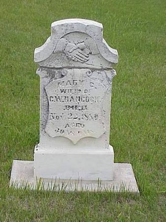 HANCOCK, MARY C. - Pottawattamie County, Iowa | MARY C. HANCOCK