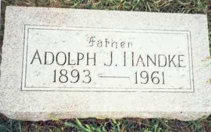 HANDKE, ADOLPH J. - Pottawattamie County, Iowa | ADOLPH J. HANDKE