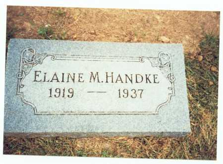 HANDKE, ELAINE M. - Pottawattamie County, Iowa | ELAINE M. HANDKE