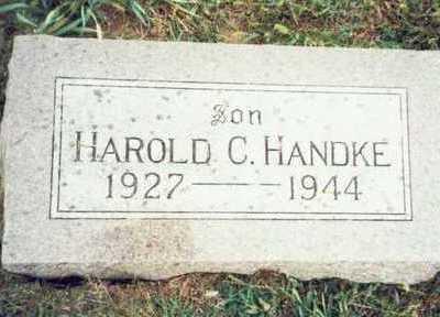 HANDKE, HAROLD C. - Pottawattamie County, Iowa | HAROLD C. HANDKE