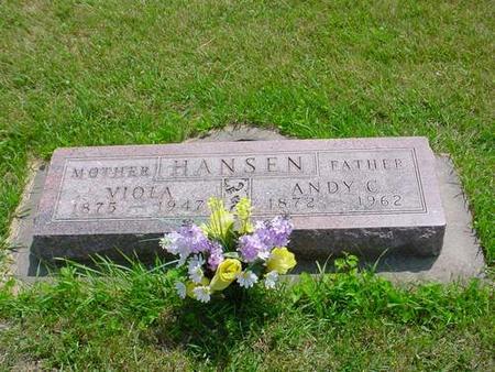 HANSEN, VIOLA - Pottawattamie County, Iowa | VIOLA HANSEN