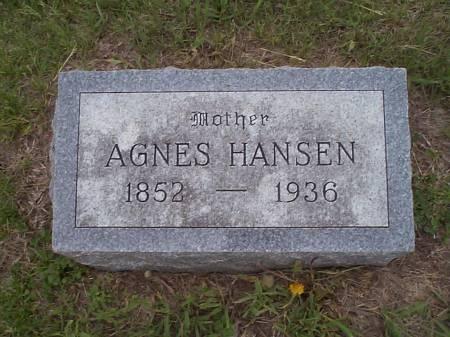 HANSEN, AGNES - Pottawattamie County, Iowa | AGNES HANSEN