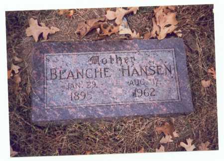 HANSEN, BLANCHE - Pottawattamie County, Iowa | BLANCHE HANSEN